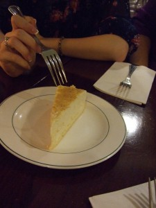 cheesecake from Marrakesh