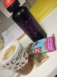 clif bar and cappuccino