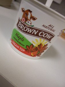 Brown Cow Cream Top Yogurt