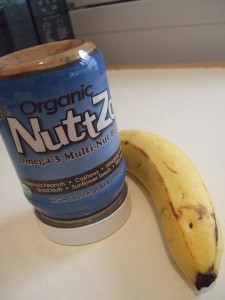 Nutzo and banana