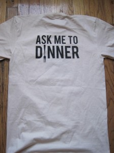 Ask Me To Dinner