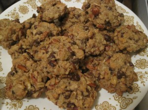 Vegan compost cookies