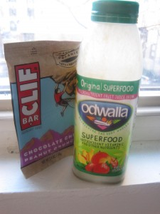 Clif and Odwalla Superfood