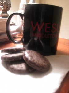 Thin mints and tea