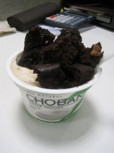 chobani and vitabrownie