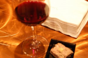 Red Wine and Pate