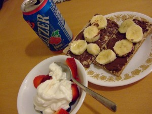 nutella and banana