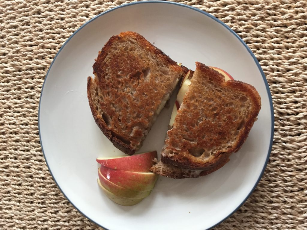 earth sky time bread grilled cheese
